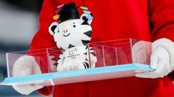 평창올림픽 '수호랑' 인형이 품절 사태를 빚고 있다