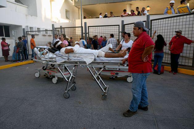 멕시코에서 규모 7.2의 강진이