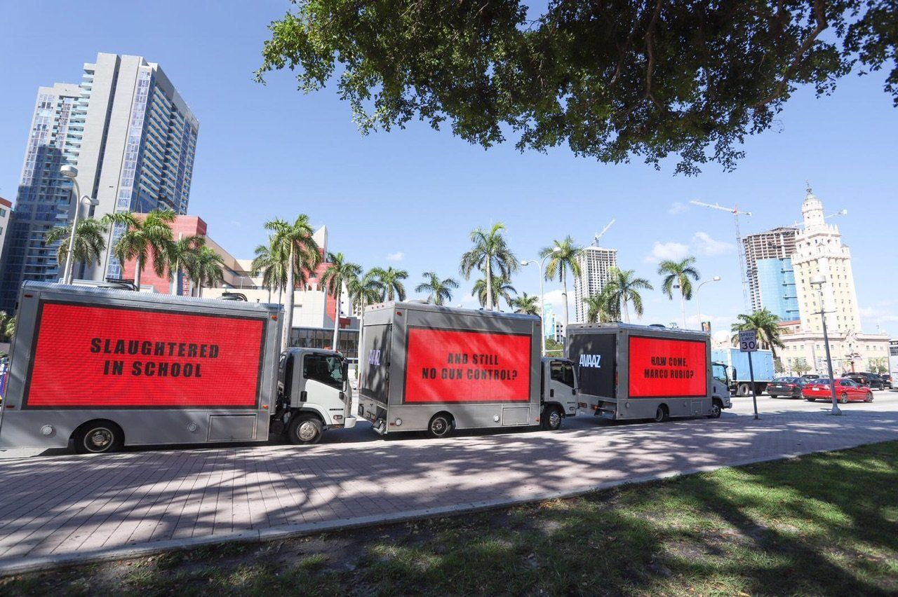 Three Billboards for Marco Rubio