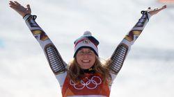 스노보드 선수가 스키에 처음 나와 '깜짝' 금메달을