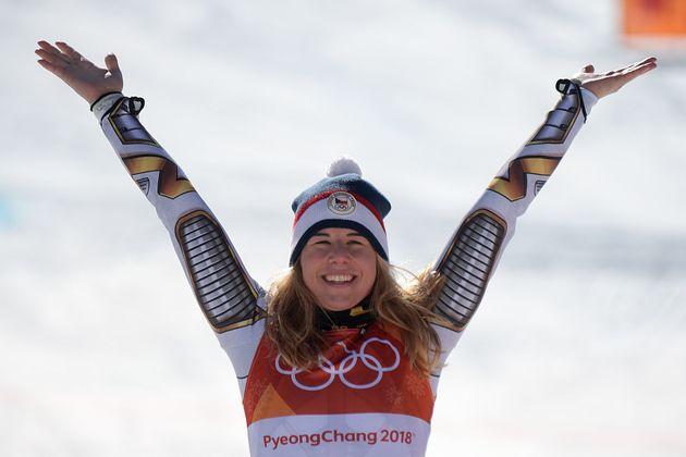 스노보드 선수가 올림픽 스키에 처음 출전해 '깜짝' 금메달을
