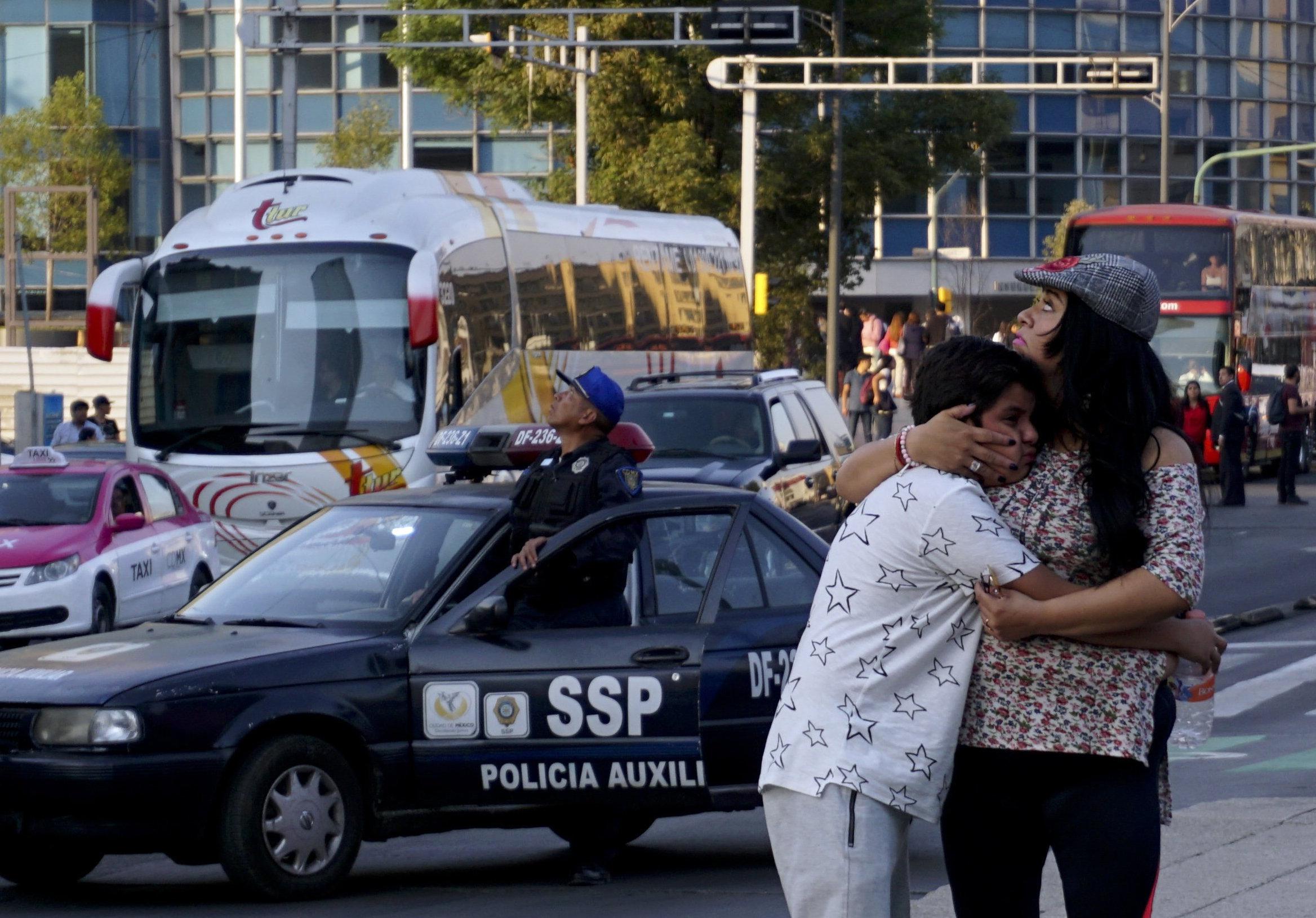 Μεξικό: Σεισμός 7,5 βαθμών σημειώθηκε με επίκεντρο την Πολιτεία