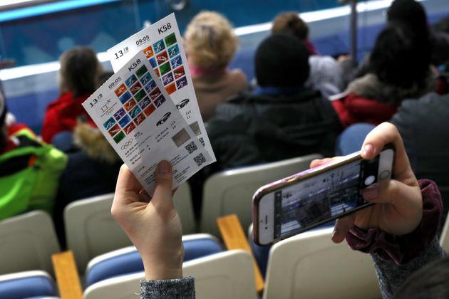 평창동계올림픽 입장권 누적판매율이 93%를