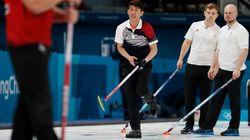 남자 컬링 대표팀이 '종주국'을 꺾고 역사적인 첫승을