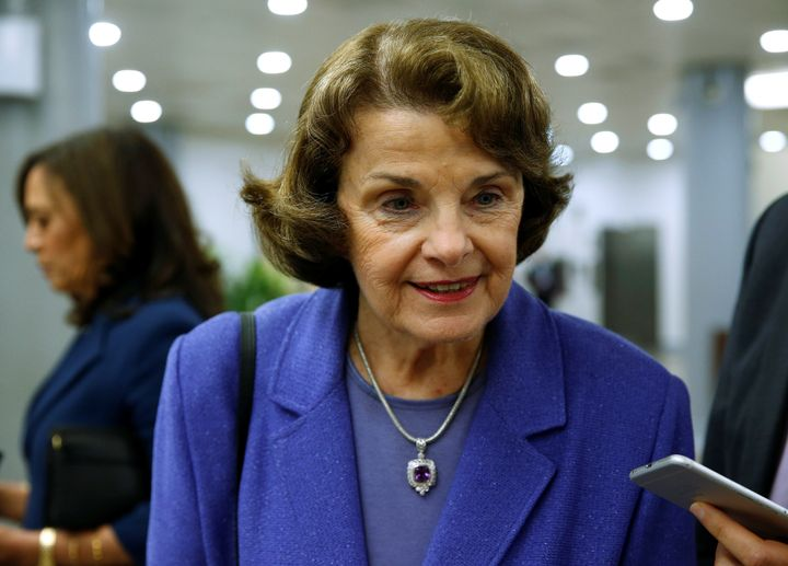 Sen. Dianne Feinstein pointed out that 18-year-olds can't buy a handgun but they can buy an AR-15.