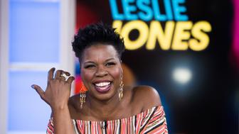 TODAY -- Pictured: Leslie Jones  on Monday, June 12, 2017 -- (Photo by: Nathan Congleton/NBC/NBCU Photo Bank via Getty Images)