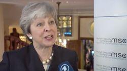 Theresa May soll in München den Brexit erklären – plötzlich spricht sie Deutsch