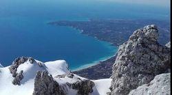 Χιόνια και θάλασσα. Η Κεφαλονιά πιο όμορφη από