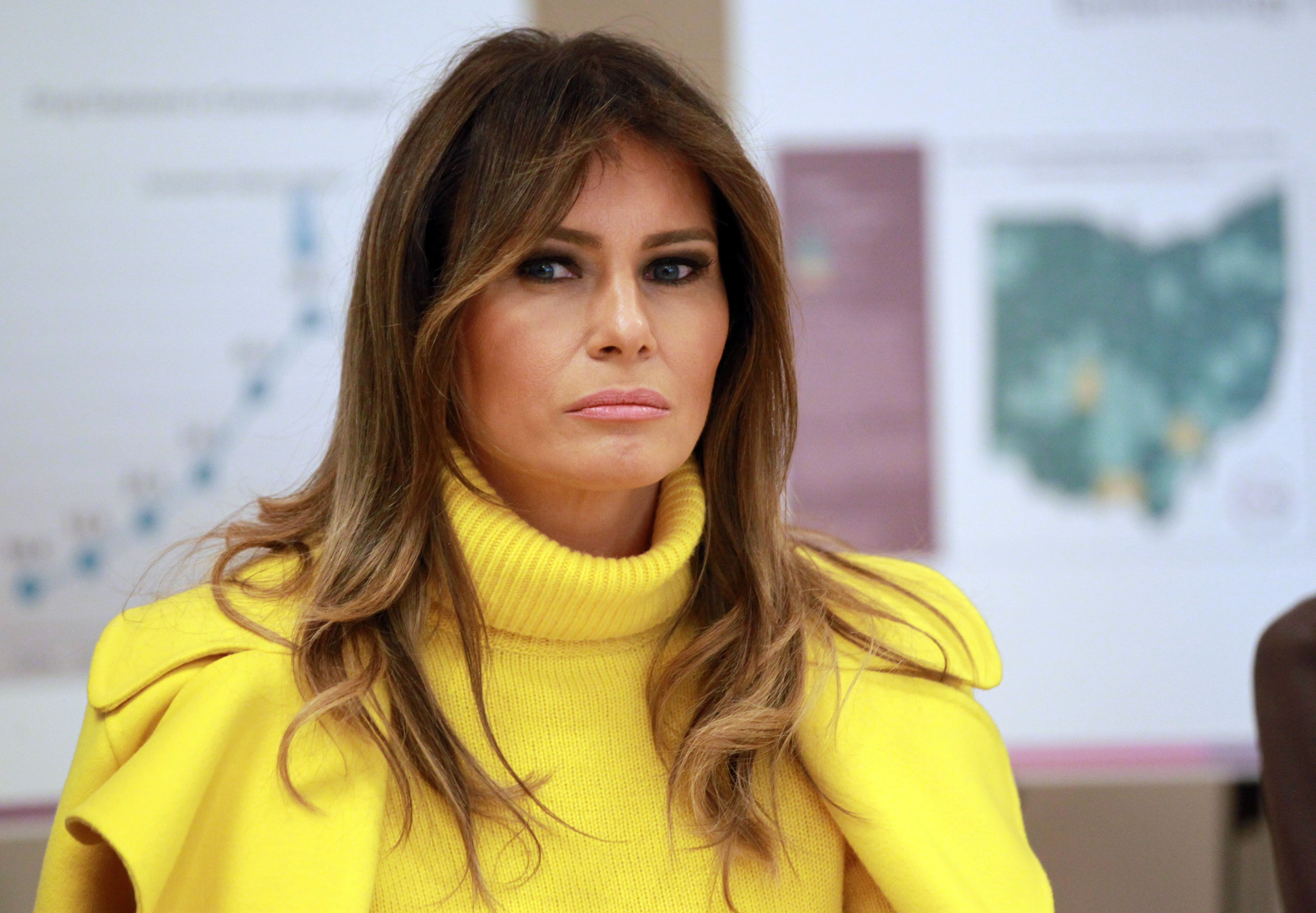Melania Trump's Tweet About 'Random Acts Of Kindness Day' Didn't Go Over Well