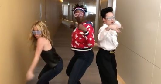 We're Crazy In Love For Leslie Jones, Tara Lipinski And Johnny Weir's Beyoncé Moves