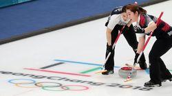 한국 컬링 여자대표팀이 3연승을