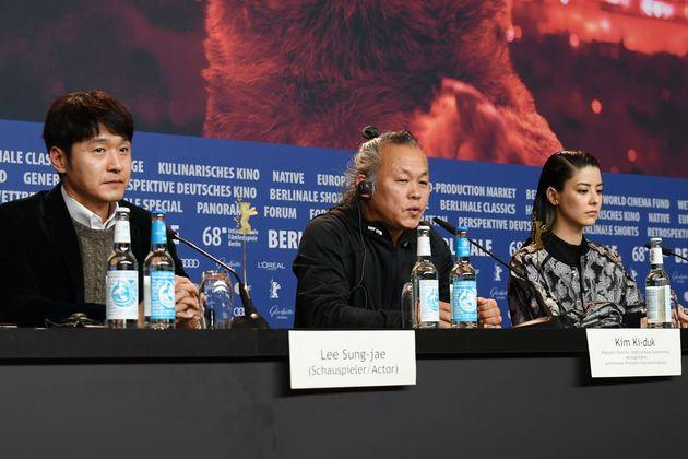 베를린 영화제에 간 김기덕 감독이 폭행 논란에 대해