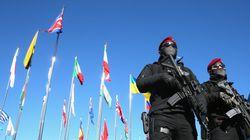 캐나다 경찰이 평창 올림픽 경기장에서 어린 아이를 구한