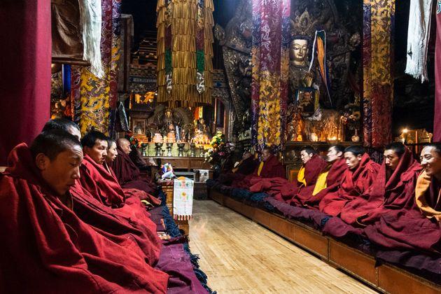 Φωτιά στον φημισμένο ναό Jokhang στην Λάσα, έναν από τους ιερότερους τόπους λατρείας των