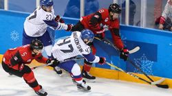 남자 아이스하키 대표팀, 캐나다에 0-4로