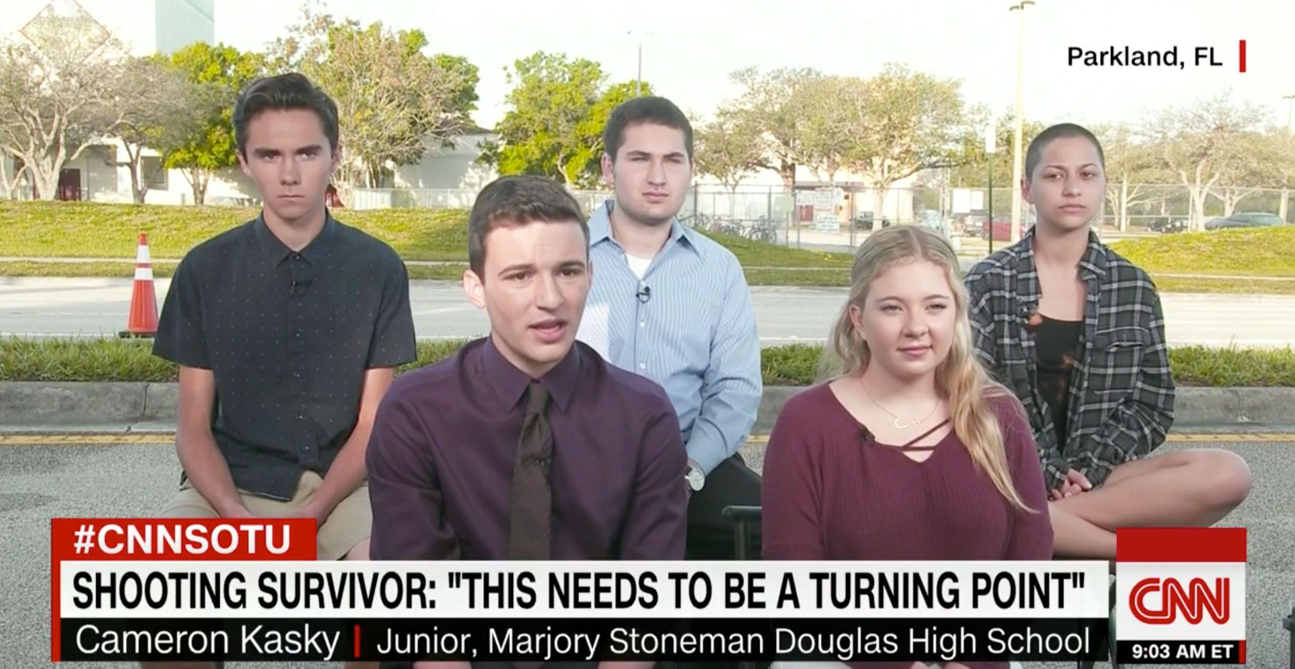 Teen Survivors Of Florida Shooting To March On Washington For Gun Law