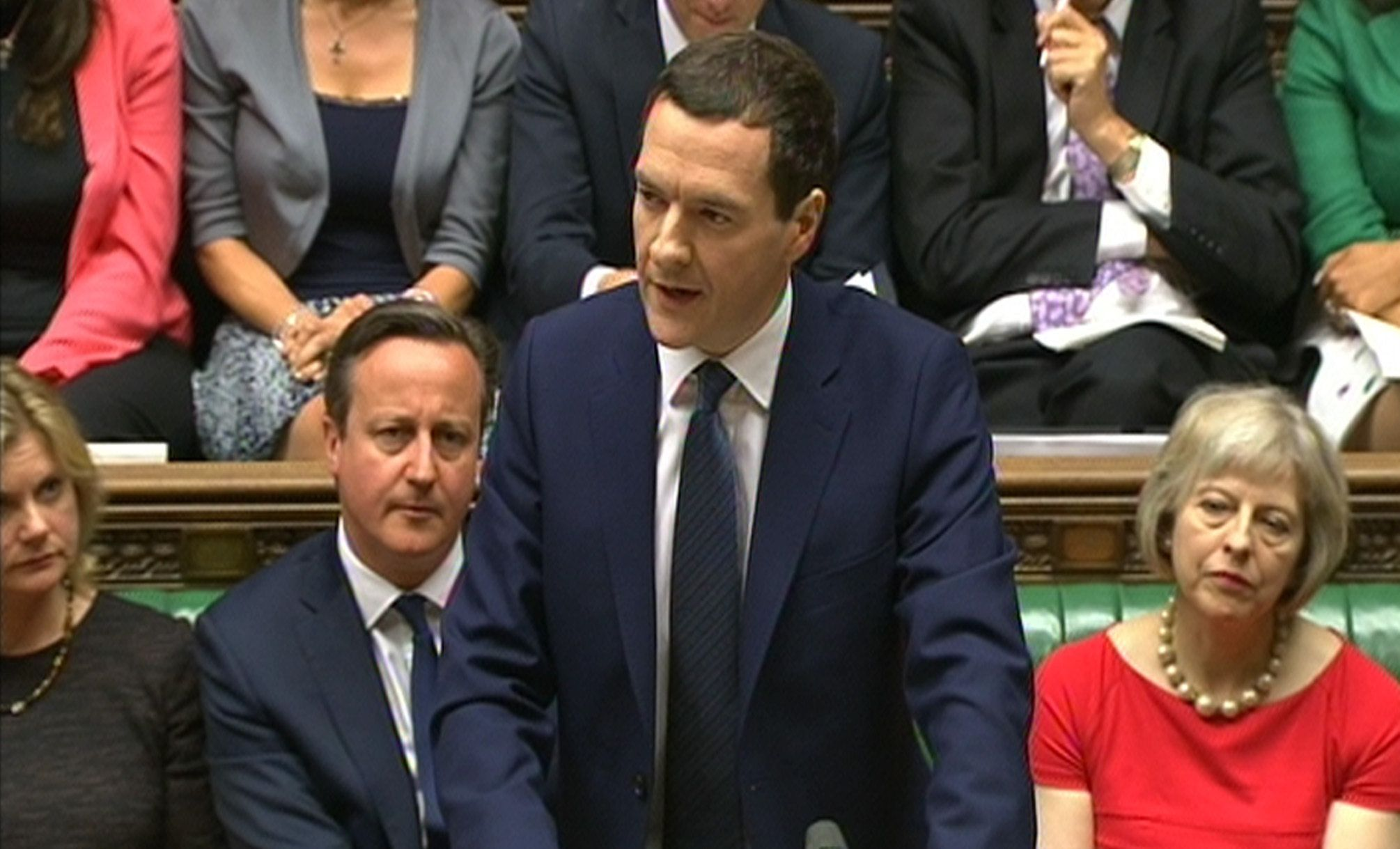 <i>George Osborne announced student grants would be scrapped in 2015.</i>