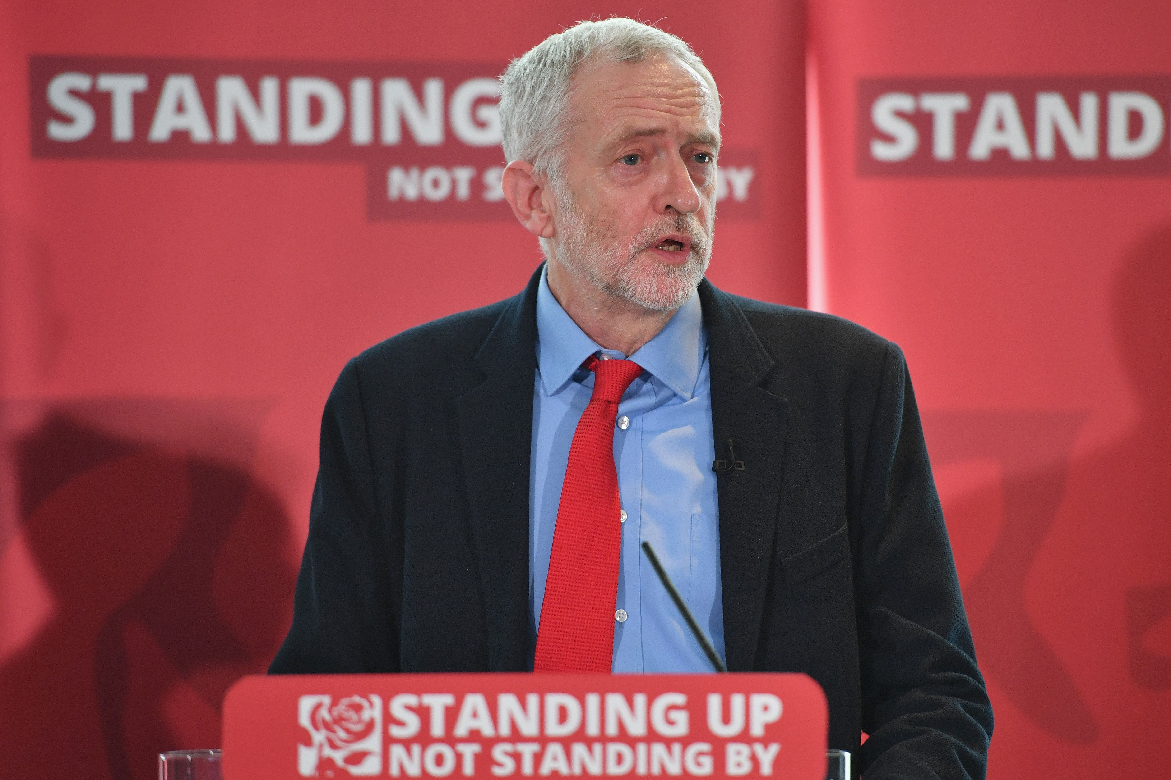 <strong>Labour leader Jeremy Corbyn</strong>