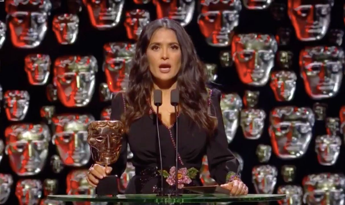 Salma Hayek's Best Actor Award Presentation Was The Highlight Of The