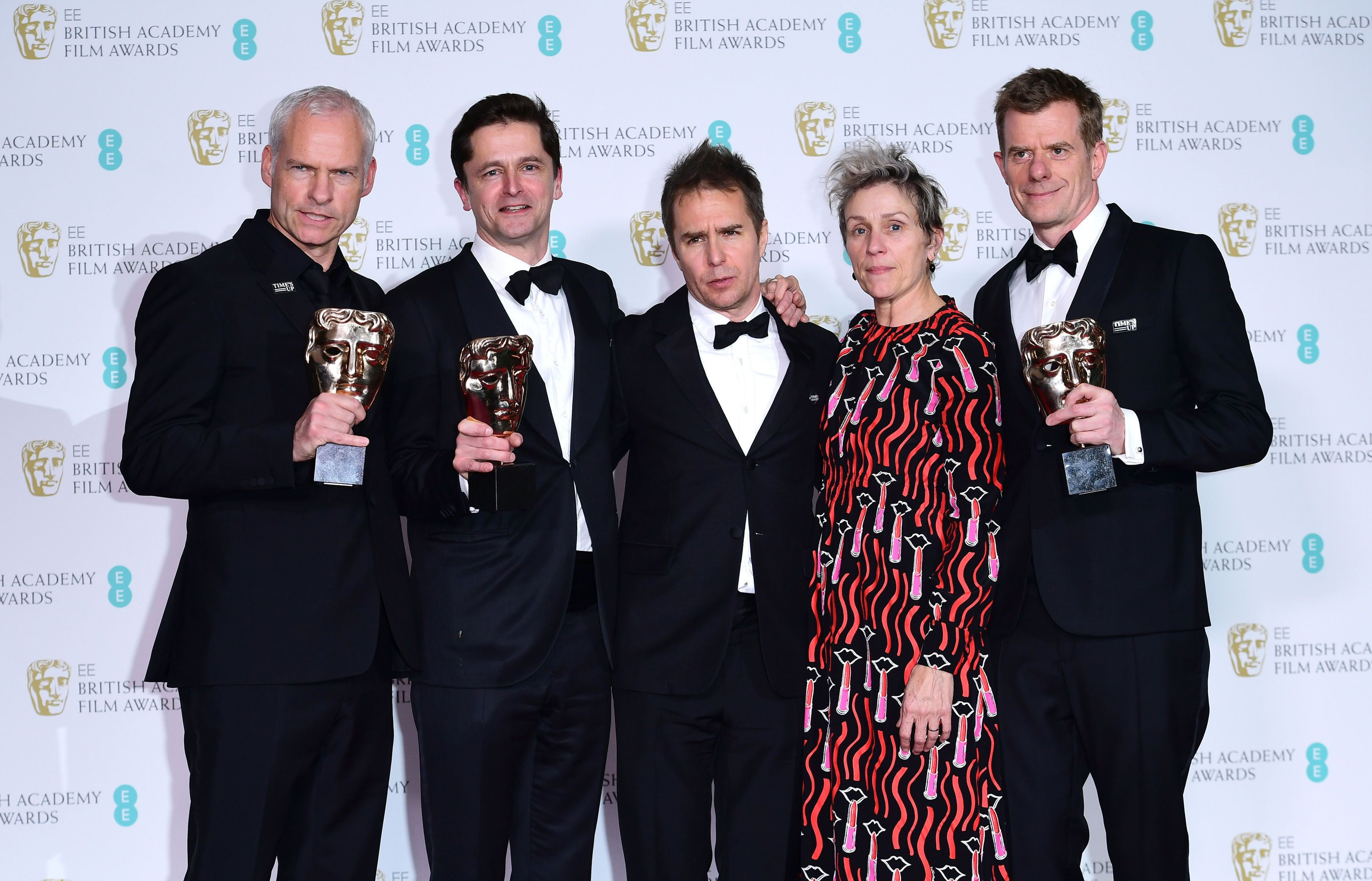 'Three Billboards' Triumphs At The Baftas - See The Full Winners List
