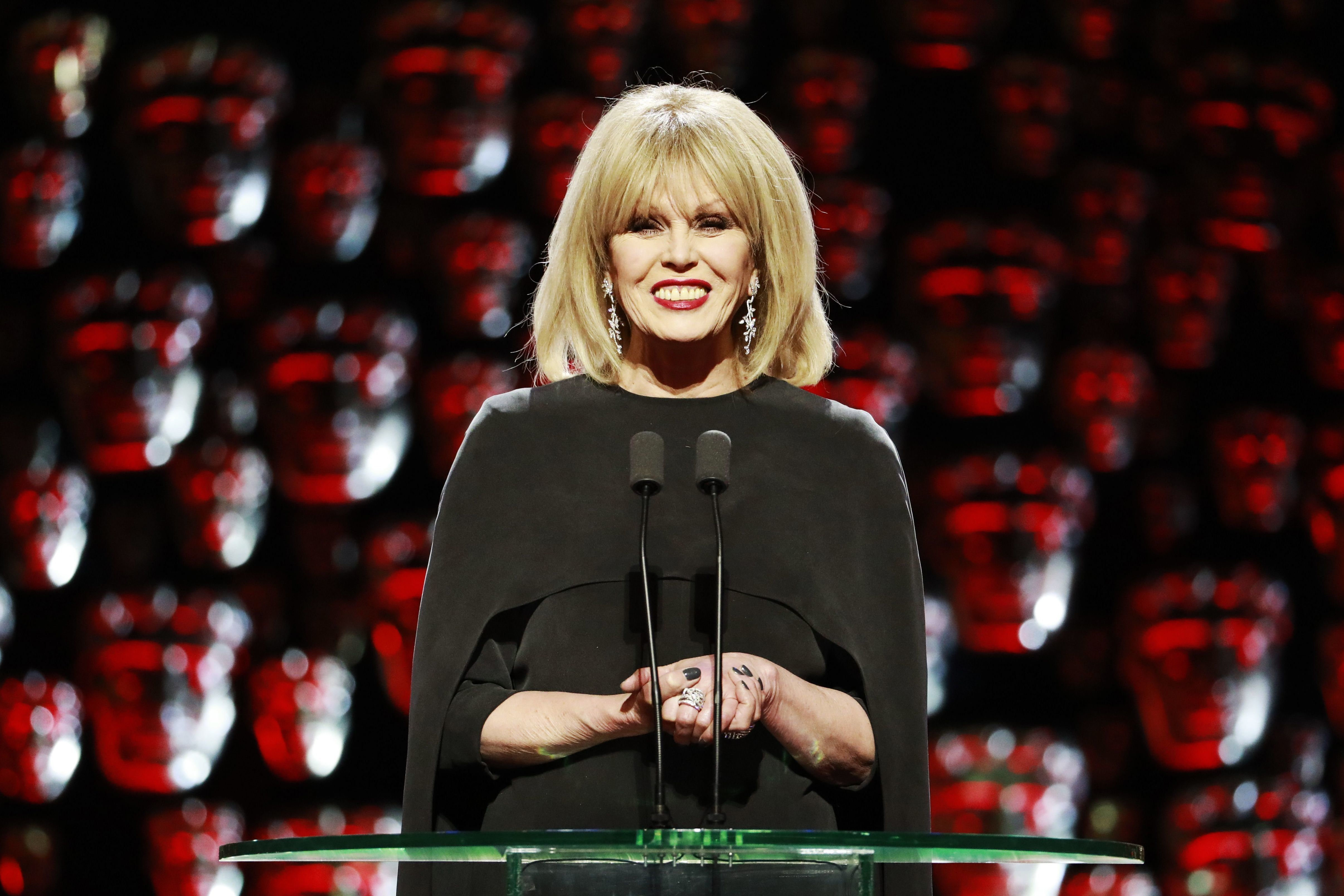 Joanna Lumley's Debut As Baftas Host Receives Mixed