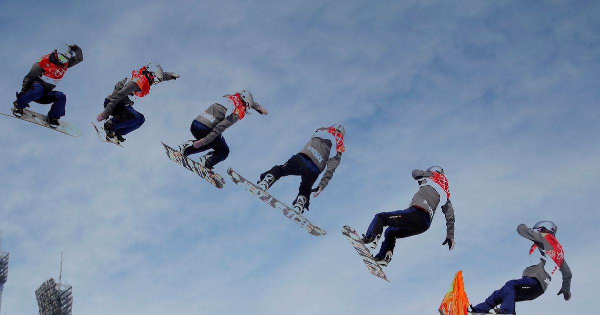 A Super Dangerous Snowboarding Event Just Debuted At The Winter Olympics
