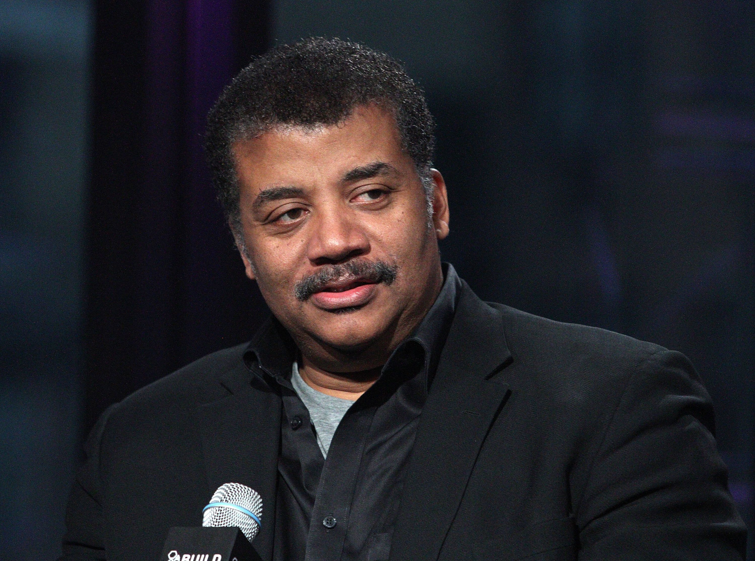 NEW YORK, NY - OCTOBER 28:  Neil deGrasse Tyson attends AOL BUILD Presents: 'Star Talk' at AOL Studios In New York on October 28, 2015 in New York City.  (Photo by Laura Cavanaugh/FilmMagic)
