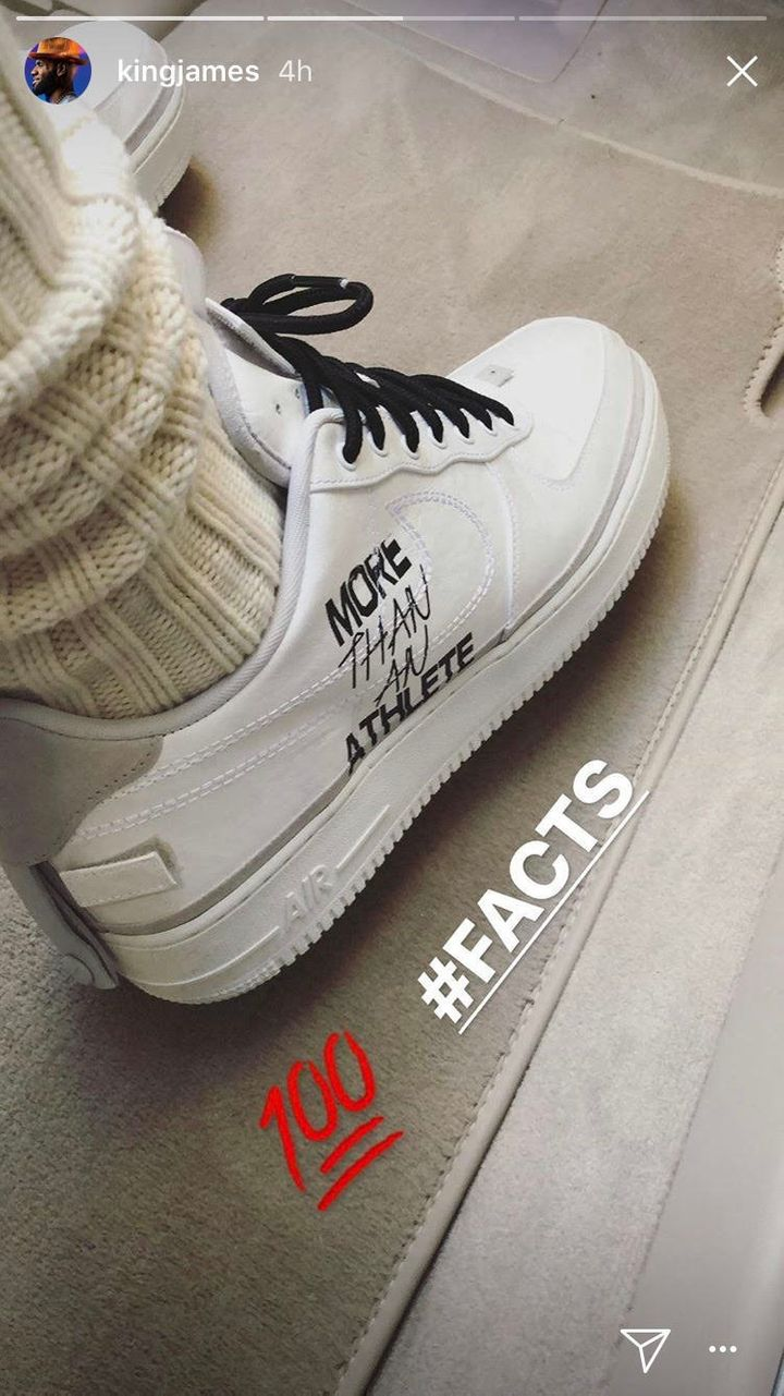 LeBron James Wears Sneakers With Pointed Message To All-Star Game ... 90f4a4cc00