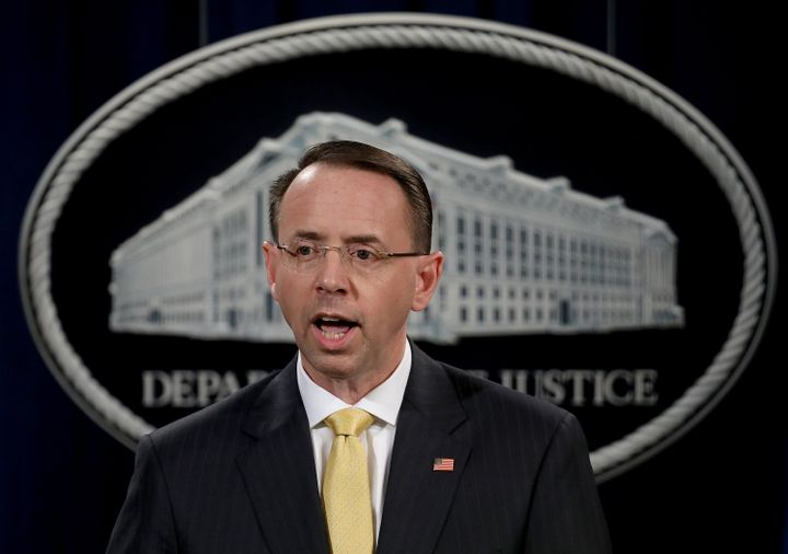 Deputy Attorney General Rod Rosenstein announced last week the indictment of 13 Russian nationals and three Russian organizat