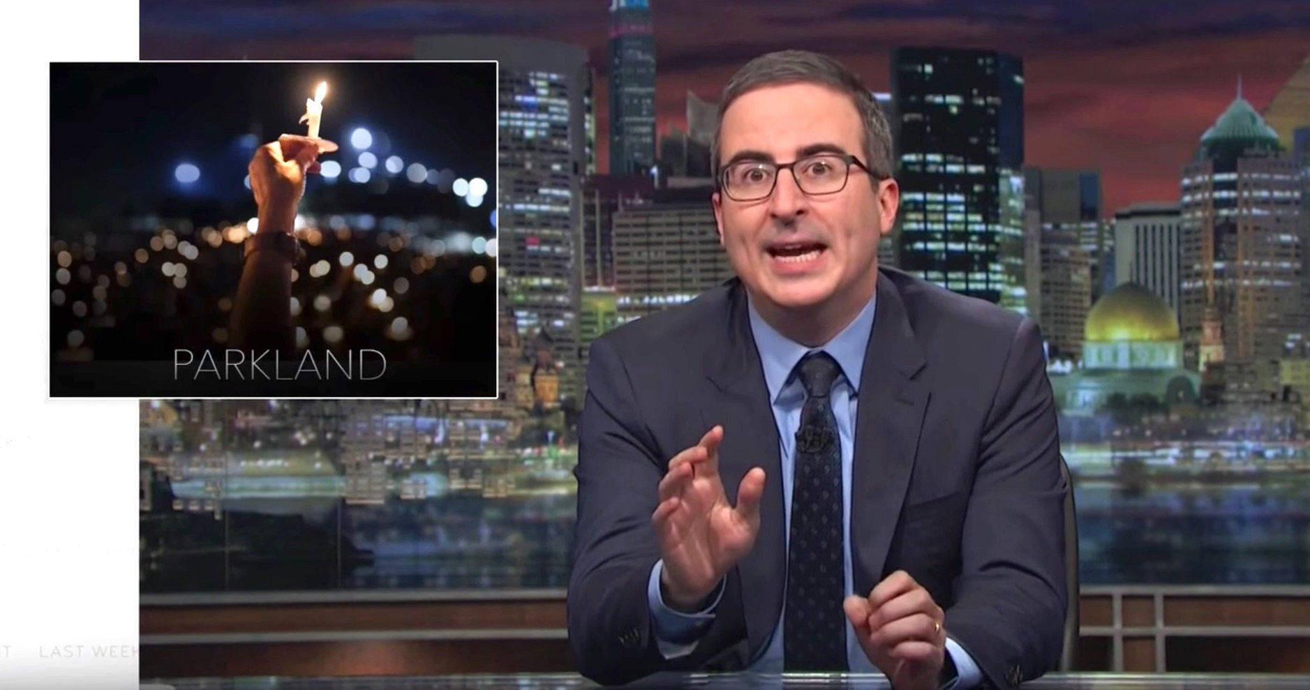 John Oliver: 'Yes, It F**king Is' Time To Talk About Gun Control