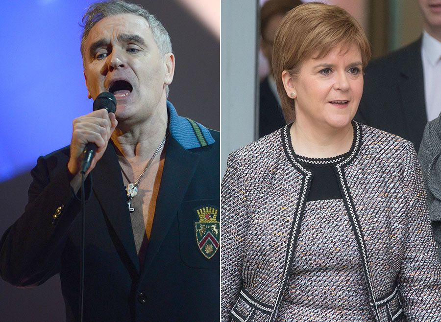Morrissey's Comments About Nicola Sturgeon Spark 'Walk-Outs' At Glasgow Concert