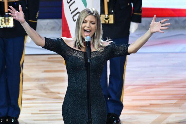 Η Fergie εκτέλεσε στην κυριολεξία των εθνικό ύμνο των ΗΠΑ στο All-Star