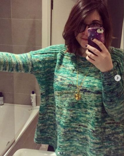 Alicia Melville-Smith's jumper.
