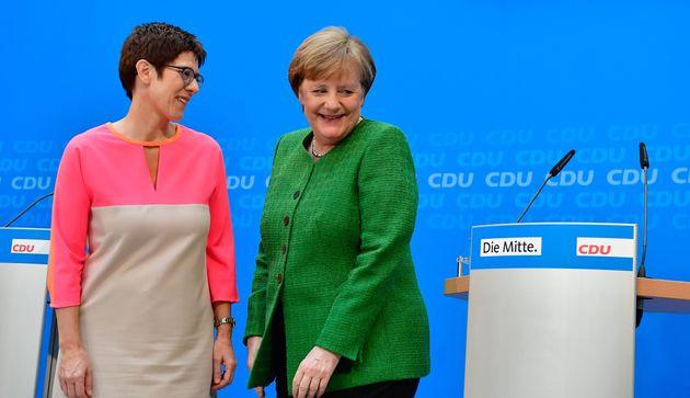 Kramp-Karrenbauer bringt Merkels langersehnten CDU-Frieden – aber er ist