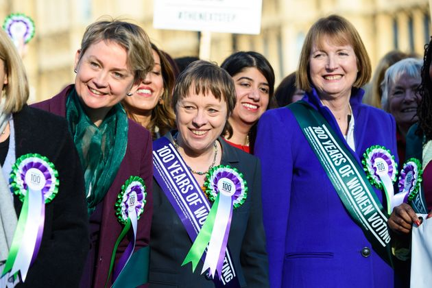 Harriet Harman and other female Labour
