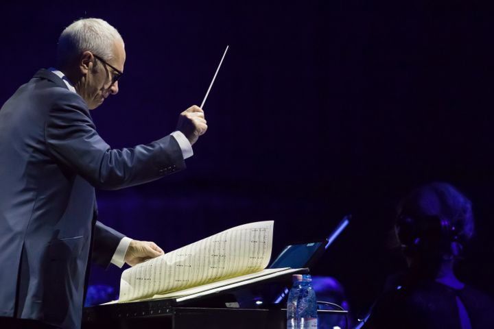 Composer James Newton Howard in Budapest on Nov. 5, 2017.