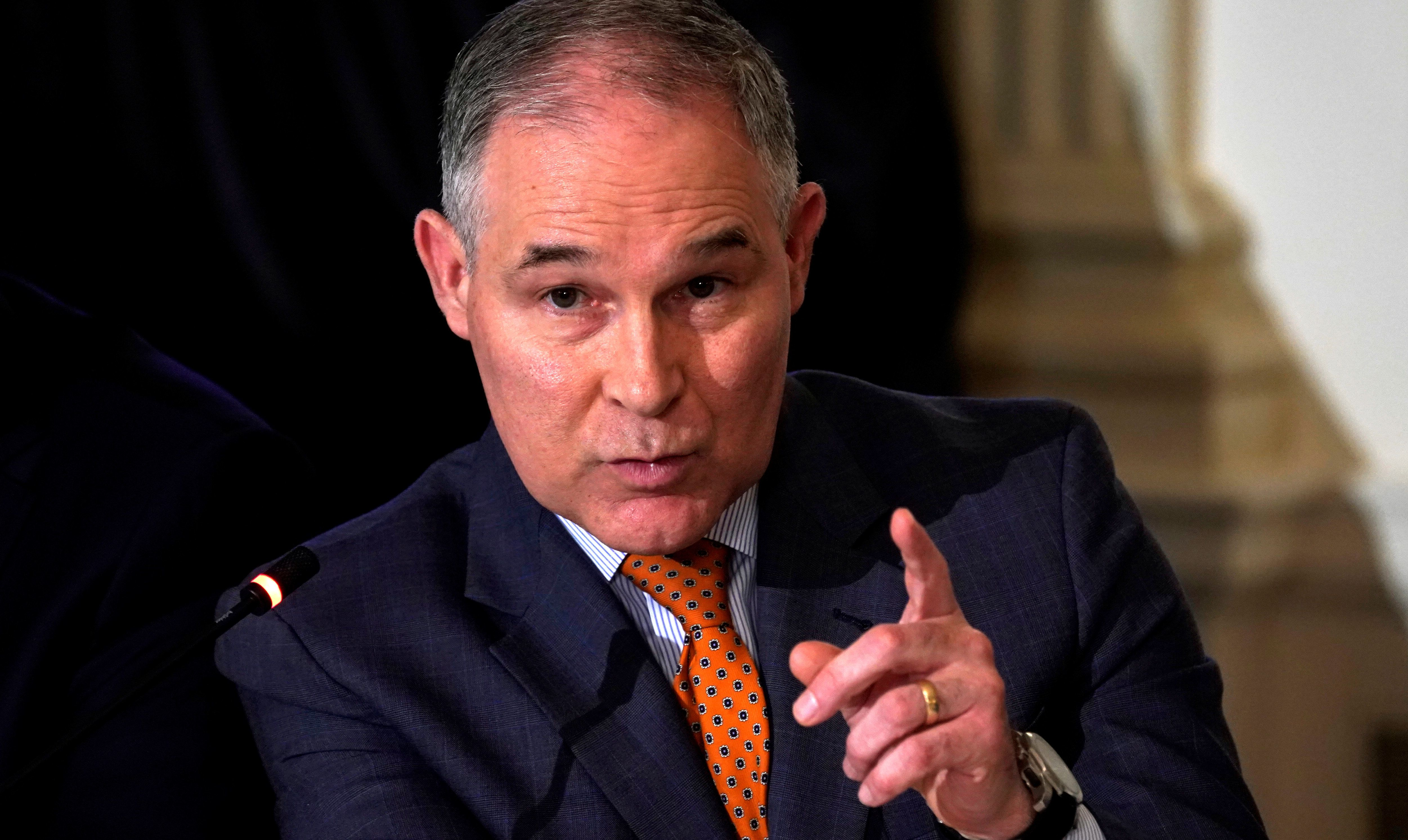 Scott Pruitt Cancels Israel Trip Amid Backlash Over Travel Expenses