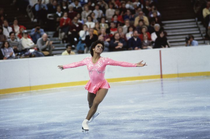 Two-time U.S. Champion figure skater Debi Thomas.
