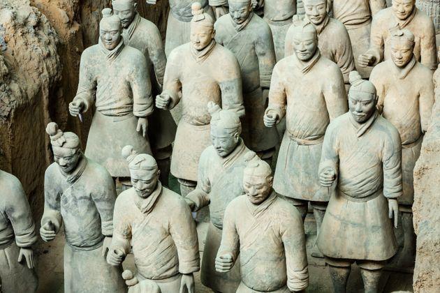 Οργή στην Κίνα για κλοπή δαχτύλου αγάλματος του «Πήλινου Στρατού» από