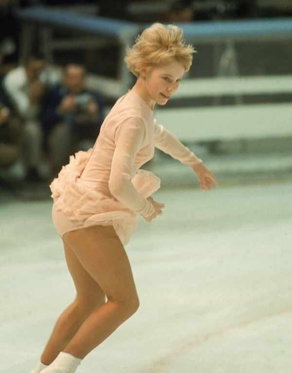 Lynn, representing the U.S. at 1968 WinterOlympics inGrenoble, France.