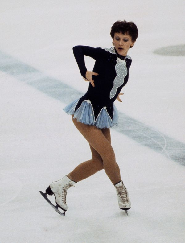 Ivanova, of the Soviet Union, at the 1984 Winter Olympic Games inSarajevo, Yugoslavia.