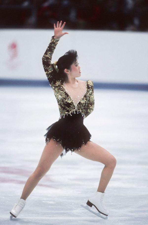 The American skater competingin theladiessingles figure skating eventat the 1992 Winter Olympic Games