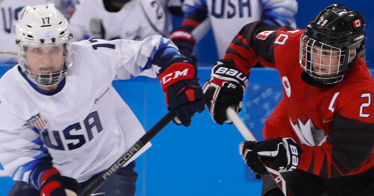U.S. Women To Face Archrival Canada For Hockey Olympic Gold