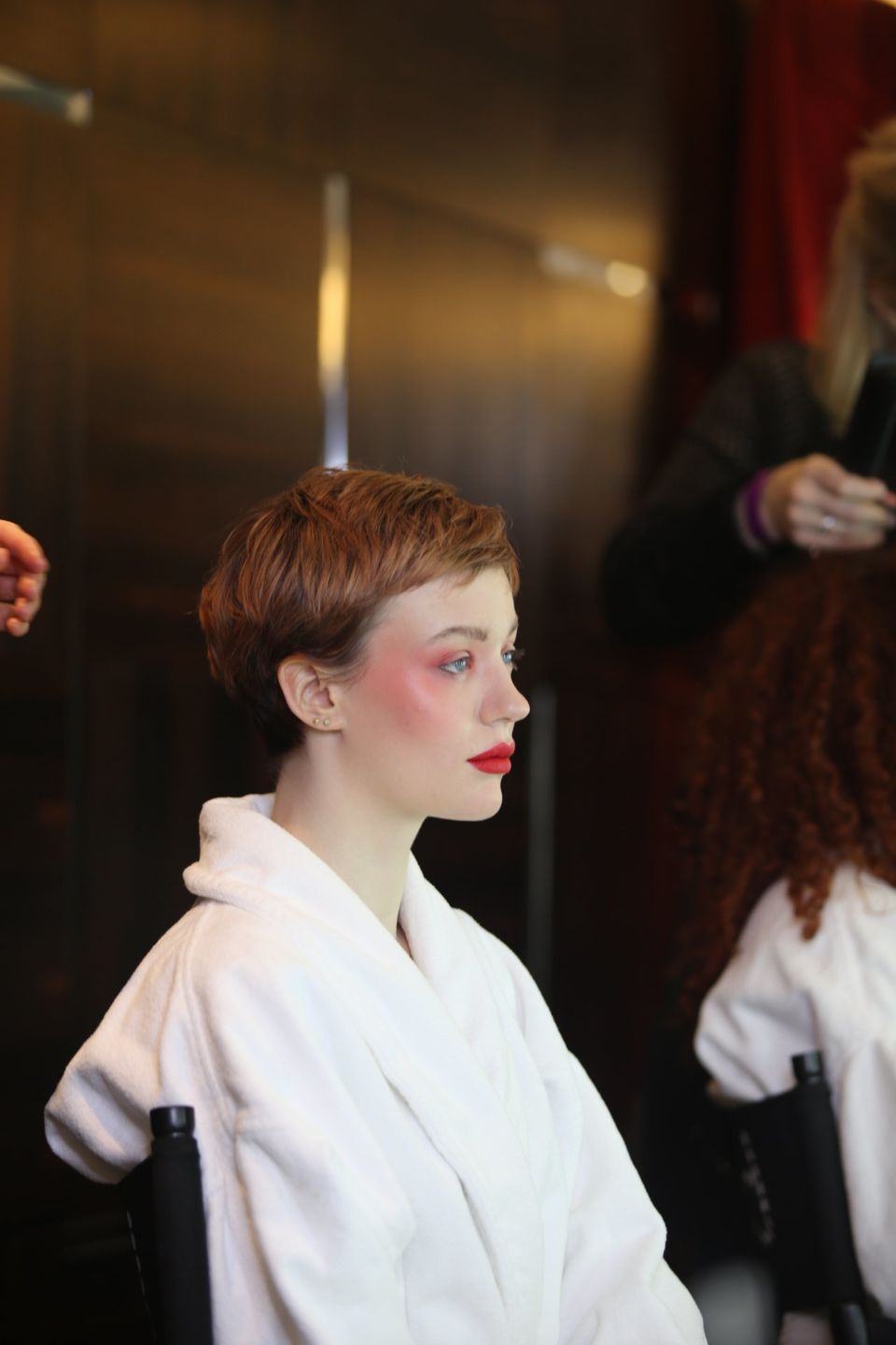 Backstage beauty at London Fashion Week: Bobbi Brown for Lulu Guinness shows us how to pull off a dewy