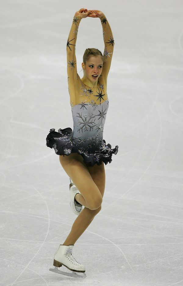 Kostner, of Italy, performingduring the free skating program ofthe ladies singles event during the 2006 Winter Ol