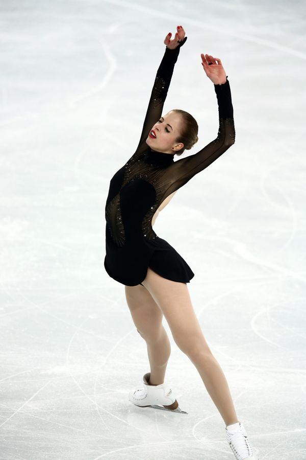 Performing at the 2014 Winter Olympics in Sochi, Russia.