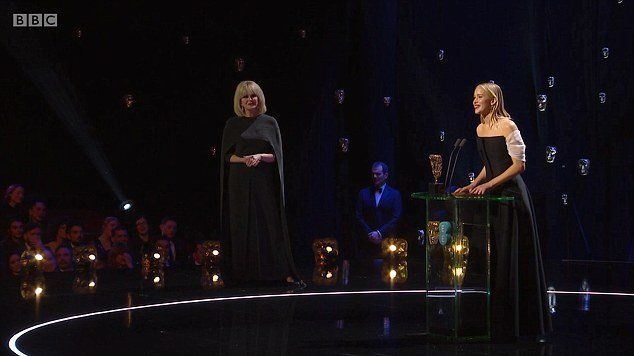 Actress Jennifer Lawrence slammed for controversial response onstage at this year's BAFTAs