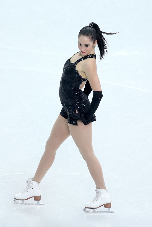 Osmond, from Canada, competing in figure skating team event during the 2014 Winter Olympics at Iceberg Skating Palace on Feb.