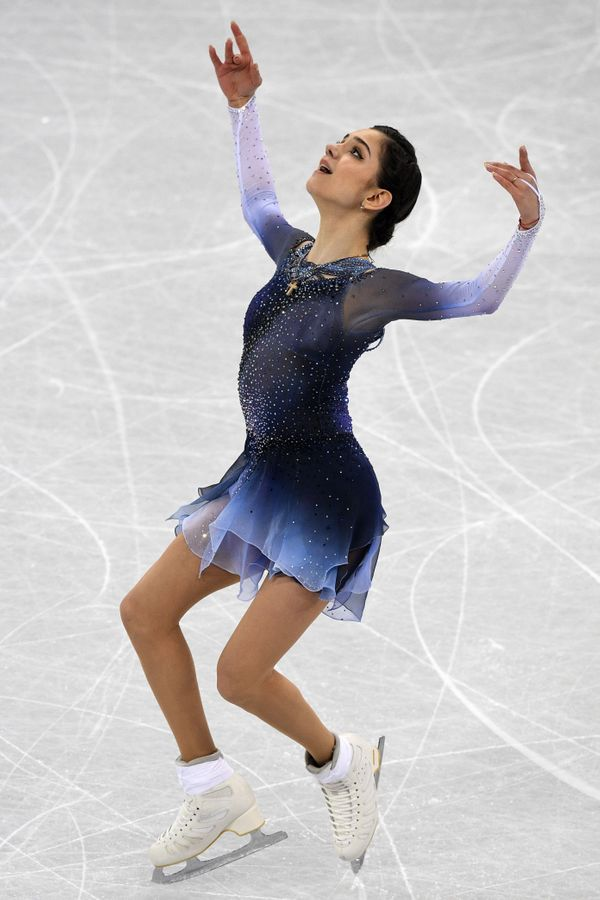 The Russian athlete competing in the figure skating team event during the Pyeongchang 2018 Winter Olympics on Feb. 11, 2018.