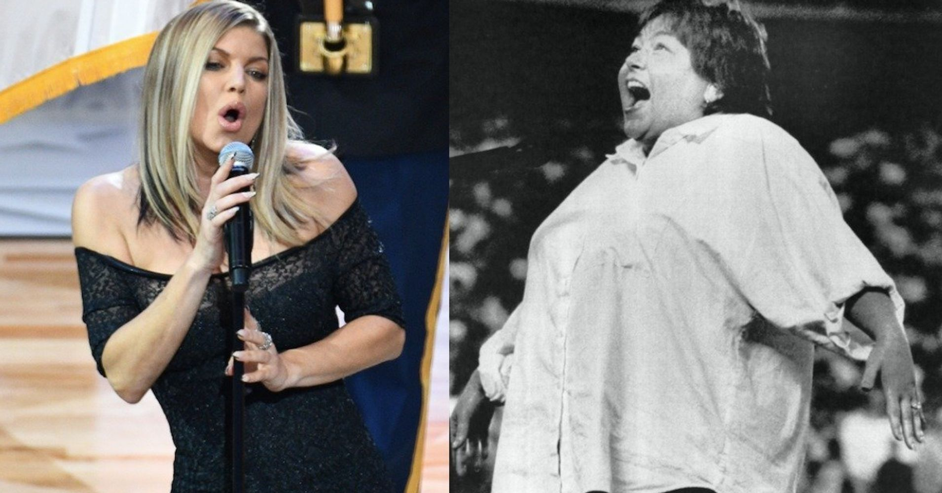 Roseanne Jokes Her National Anthem Was 'Better' Than Fergie's